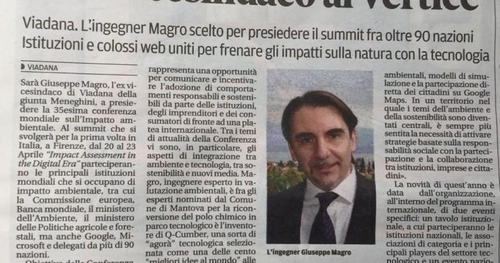 Giuseppe Magro - Gazzetta di Mantova